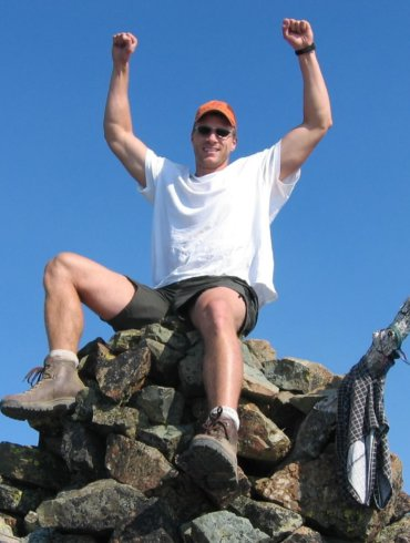 At the top of He Devil in the Seven Devils mountain range.