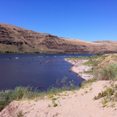 The Dunes on Snake River below Lower Granite Dam