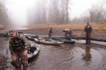 Kayak Hunting