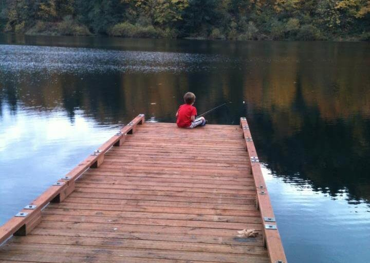 Sitting On The Dock