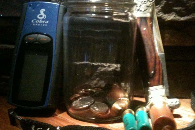 Adventure Series Money Jar
