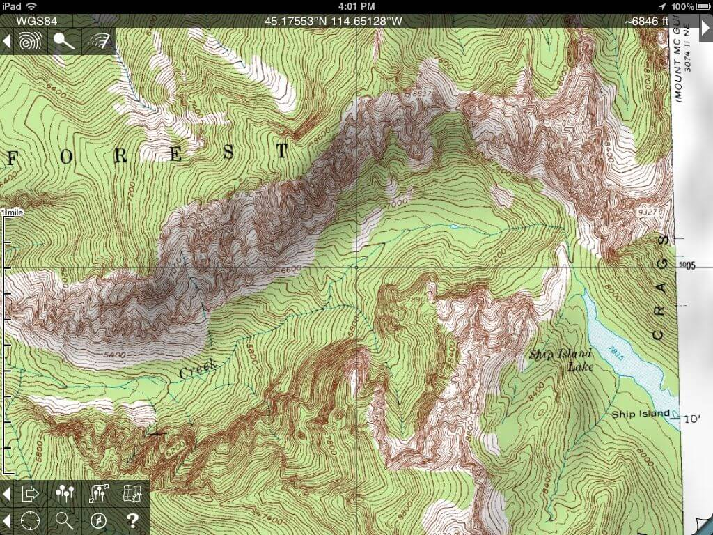 Topo Maps For IPhone And IPad Review Man Makes Fire - Us topo maps pro