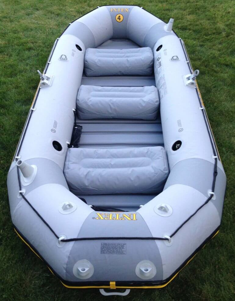 Intex Mariner 4 Inflatable Raft Review: 'Best Budget Raft