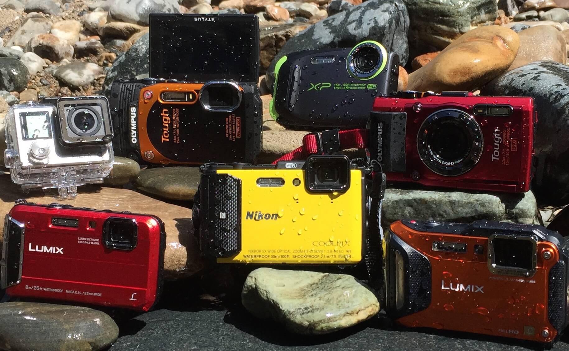 Top 8 Waterproof Cameras For Rugged Adventure 2016