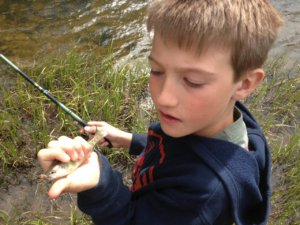 tenkara rods with kids