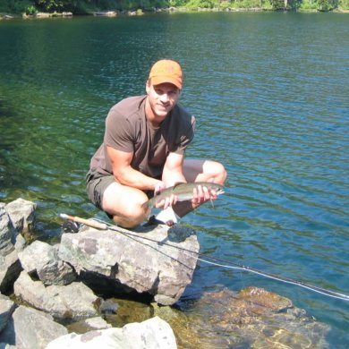 best fly rod trout