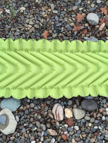 klymit static v2 inflatable pad