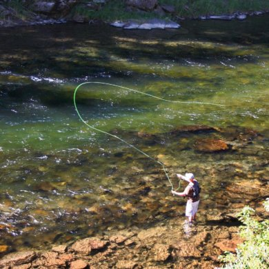 getting started fly fishing