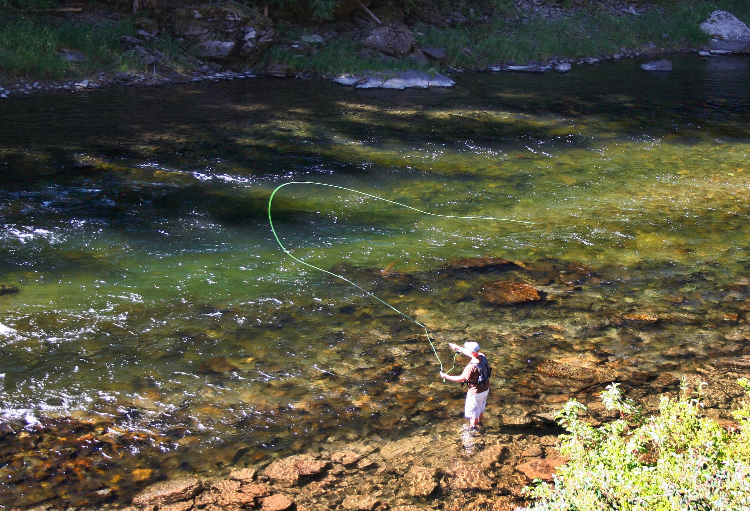 How to get started fly fishing man makes fire for Learn to fly fish