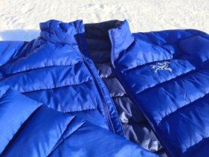 lightweight down jacket arc'teryx thorium ar jacket