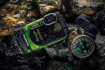 The Olympus TG-870 waterproof adventure camera can take a beating.