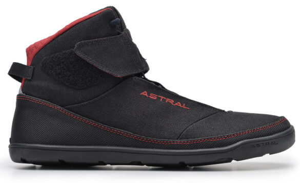 This best water shoe image shows the Astral Hiyak water shoe bootie.