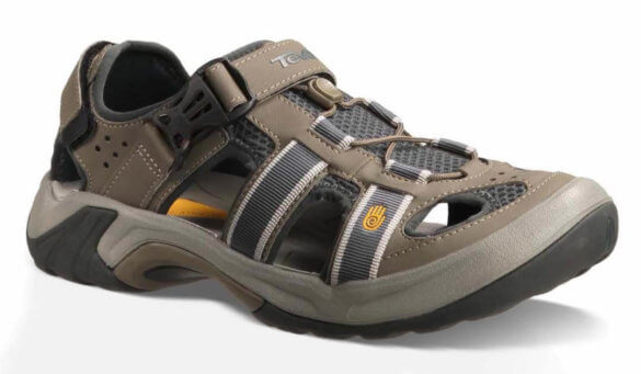 This best water shoe image shows the Teva Omnium.