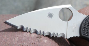 spyderco blade designs