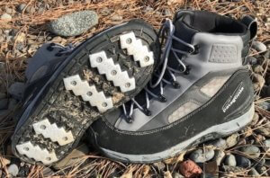 This wading boots photo shows the Patagonia Foot Tractor Wading Boots.