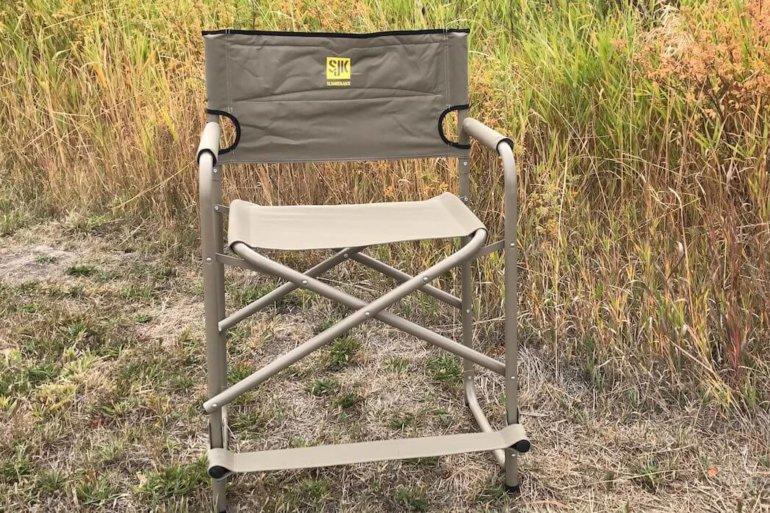 slumberjack big tall steel chair review