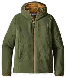 This backpacking gift image shows the Patagonia Nano-Air Hoody jacket.
