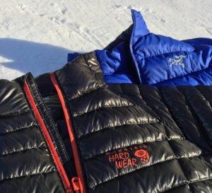 best down jacket fit