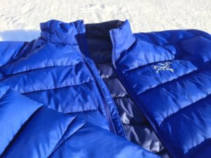 best down jacket arc'teryx thorium