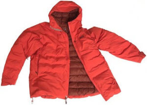 This photo shows the mens REI Co-op Stormhenge 850 Down Jacket on a white background.
