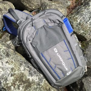This best fly fishing sling pack image shows the Umpqua Ambi-Sling ZS Sling Pack.