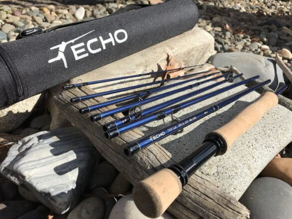 best travel fly fishing rod echo