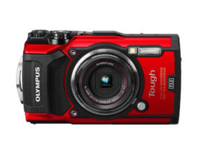 This best waterproof camera image shows the Olympus Tough TG-5 rugged camera.