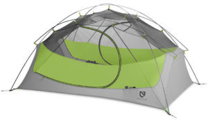 This backpacking tent image shows the NEMO Losi 2p tent