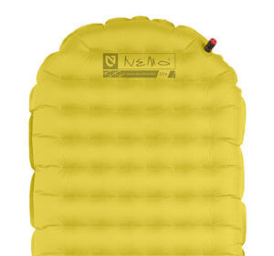This backpacking pad image shows the Nemo Tensor air mattress.