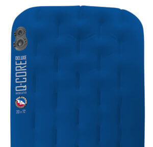 This best sleeping pad image shows the Big Agnes Q-Core Deluxe sleeping pad.