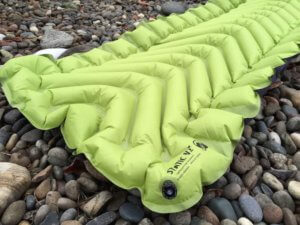 This best sleeping pad image shows the Klymit Static V2 air mattress.
