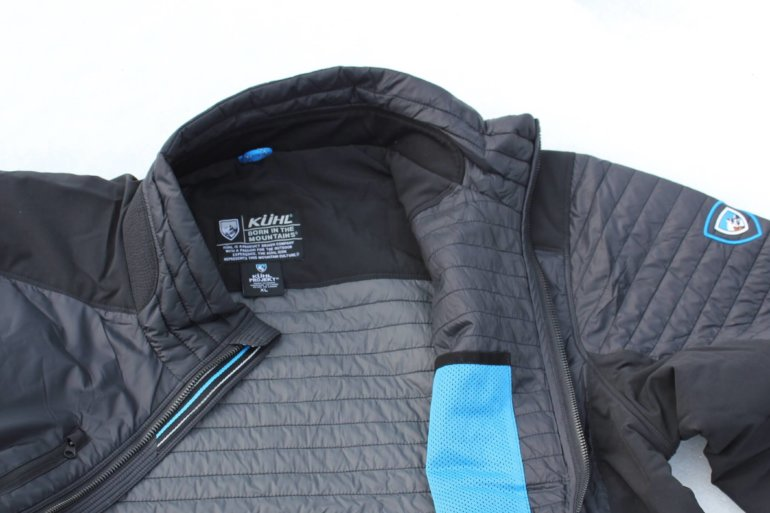 This image shows the kuhl firefly jacket.