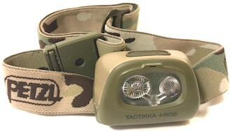petzl tactikka +RBG headlamp hunting gift idea