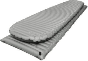 This best sleeping pad photo shows the Therm-a-Rest NeoAir XTherm air mattress.