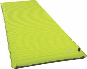 This best sleeping pad photo shows the Therm-a-Rest NeoAir Trekker air mattress for camping and backpacking.