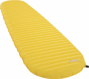 This best sleeping pad photo shows the ultralight Therm-a-Rest NeoAir XLite air mattress for backpacking and camping.
