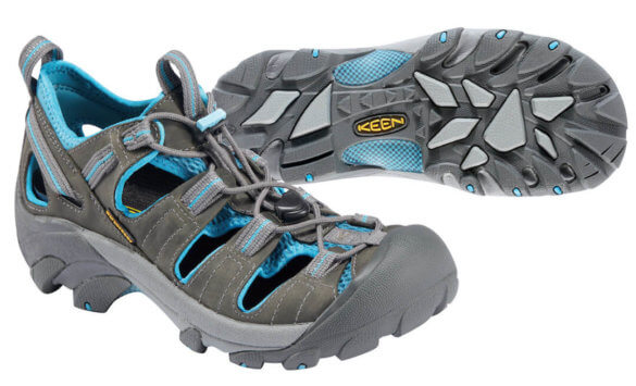 This best water shoe photo shows the Keen Arroyo II water shoe.