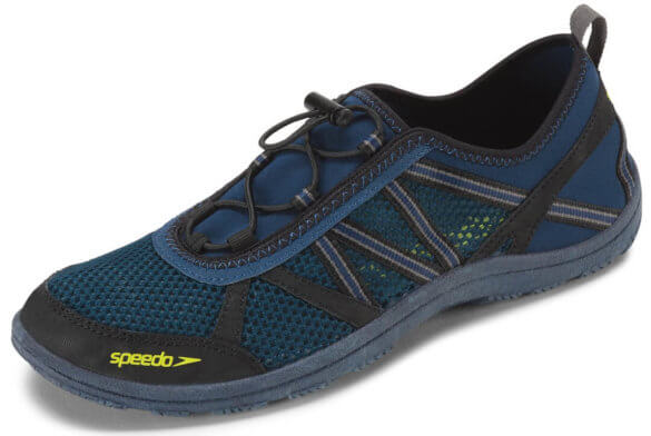 This best water sock image shows the Speedo Seaside Lace 5.0 mens water shoes.