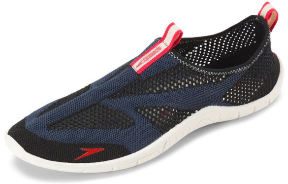 This water sock image shows the Speedo Surf Knit water shoe.