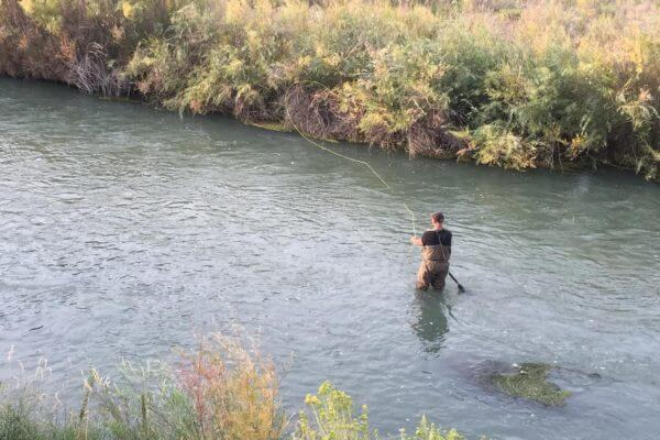 Man makes fire less watch more do for Fly fishing waders reviews