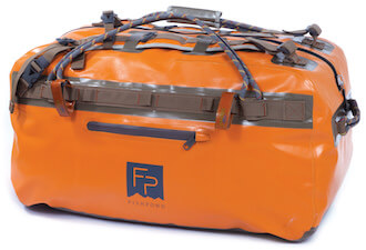 This fly fishing gifts image shows the Fishpond Thunderhead Submersible Duffel Bag.