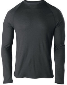 This hunting gift guide image shows the Cabela's Men's Merino Base-Layer Top.