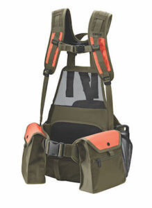 This hunting gifts guide photo shows the Orvis Pro Series Hunting Vest for upland game bird hunting.