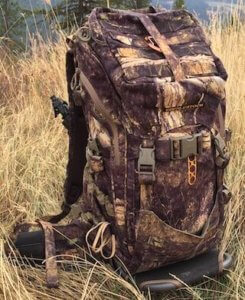 This hunting gift photo shows the Eberlestock Mainframe Backpack with the Transformer Backpack.