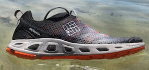 This gift for backpackers image shows the Columbia Drainmaker III water shoe.