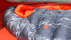 This backpacking gifts guide image shows the REI Co-op Magma 10 Sleeping Bag.