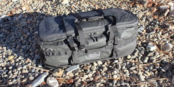 This photo shows the REI Co-op Big Haul 120 Duffel bag.