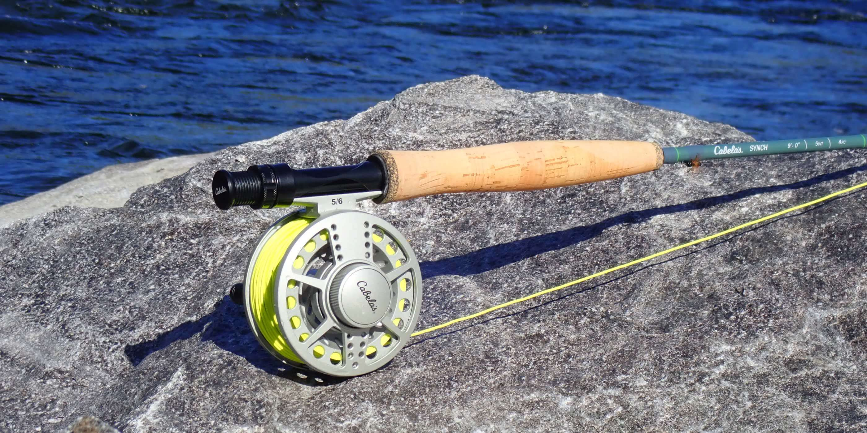This image shows the Cabela's Synch Fly Combo.