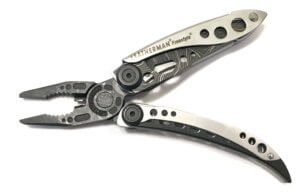 This photo shows the Leather Freestyle Topo Multi-Tool.
