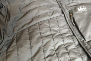 This photo shows the inside of the REI Co-op Activator SI Jacket.